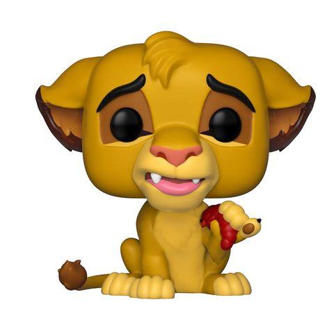 Figura Funko de Simba de 'El Rey León' en Amazon