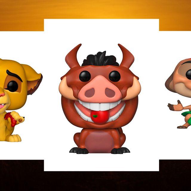 Se estrena 'El Rey León' y estos son los Funkos de sus personajes.