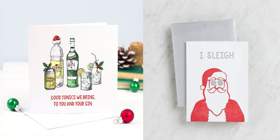 Clever Christmas Cards Ideas.We Found 26 Funny Christmas Cards For People Who Don T Do Sentimental