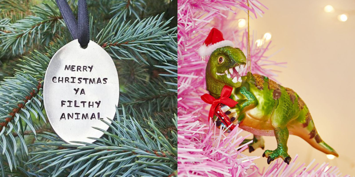 Ornaments Christmas.10 Funny Christmas Ornaments Your Friends Will Love
