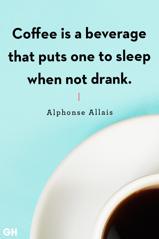 Funny Coffee Quotes Alphonse Allais