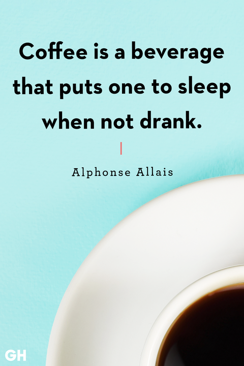 Funny Coffee Quotes Alphonse Allais