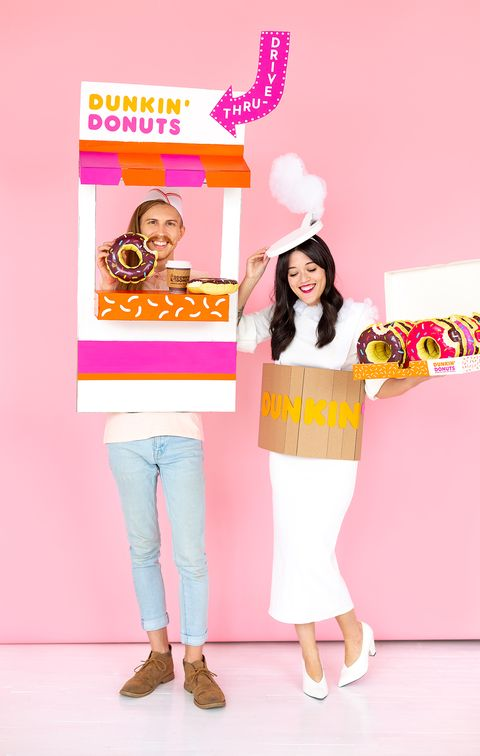 dunkin donuts funny halloween costume