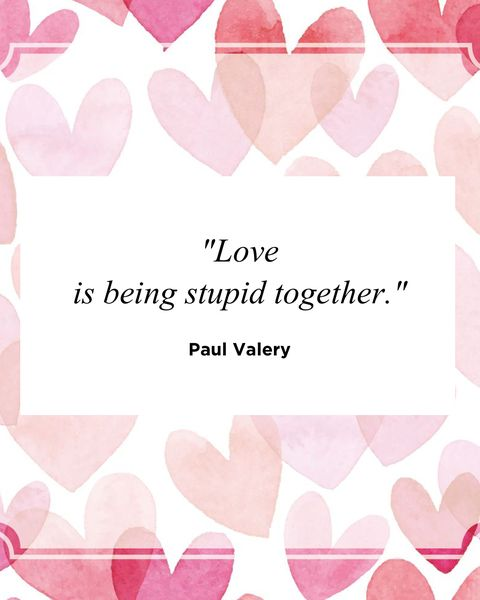 funny love quotes Paul Valery