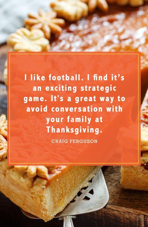 funny thanksgiving quotes craig ferguson