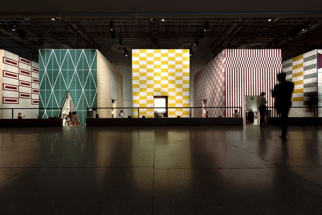 la pelota, installazione collections for the home di hermès, fuorisalone 2021