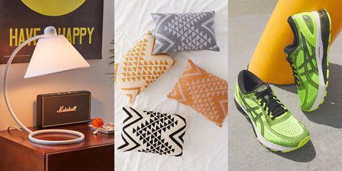 Footwear, Yellow, Orange, Room, Shoe, Font,