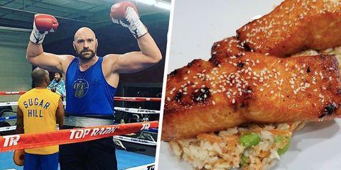 Tyson Fury diet
