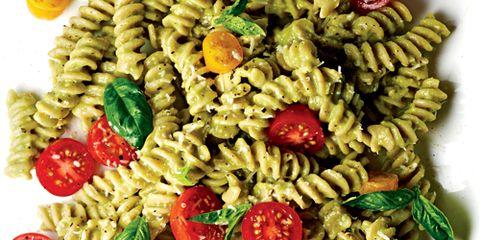 Fusilli with Avocado Sauce