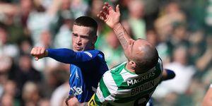 Ryan Kent Scott Brown Celtic Rangers