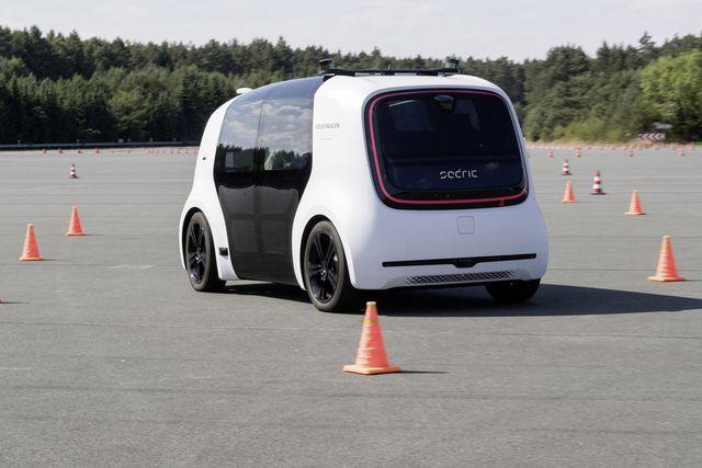 2018 sedric autonomous prototype