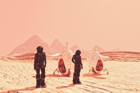Toekomstig ruimtereizen naar Mars