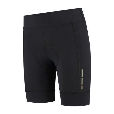 futurum proformance waist t shorts mara fietsbroek zwart korte broek
