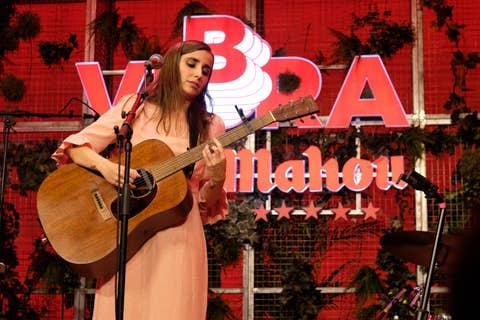 Zahara en el concierto Cómplices de Mahou