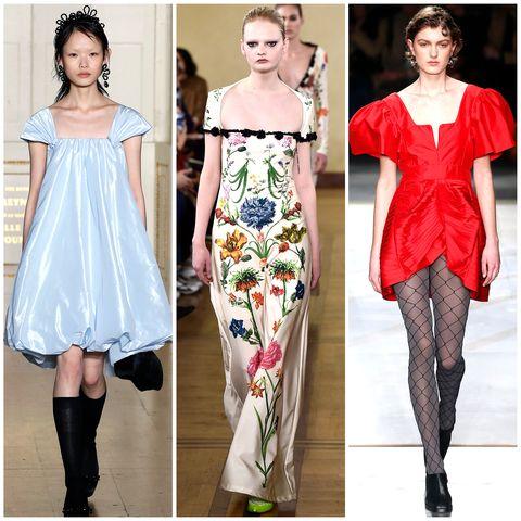 Clothing, Dress, Style, Pattern, Fashion, Neck, Waist, Fashion model, One-piece garment, Day dress,