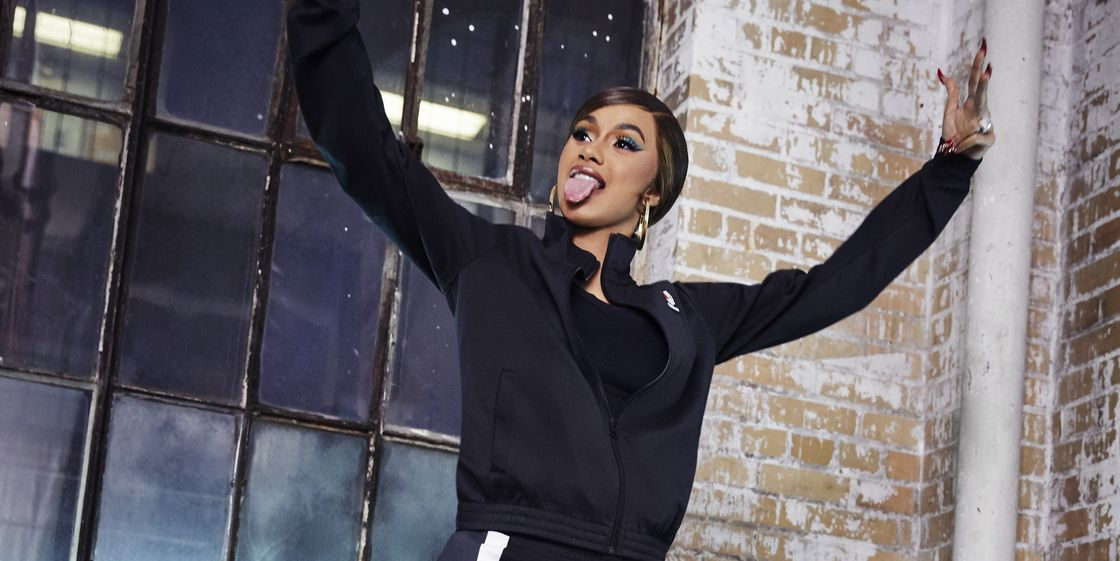 Cardi B Has Officially Joined The Reebok Family Cardi B And Reebok