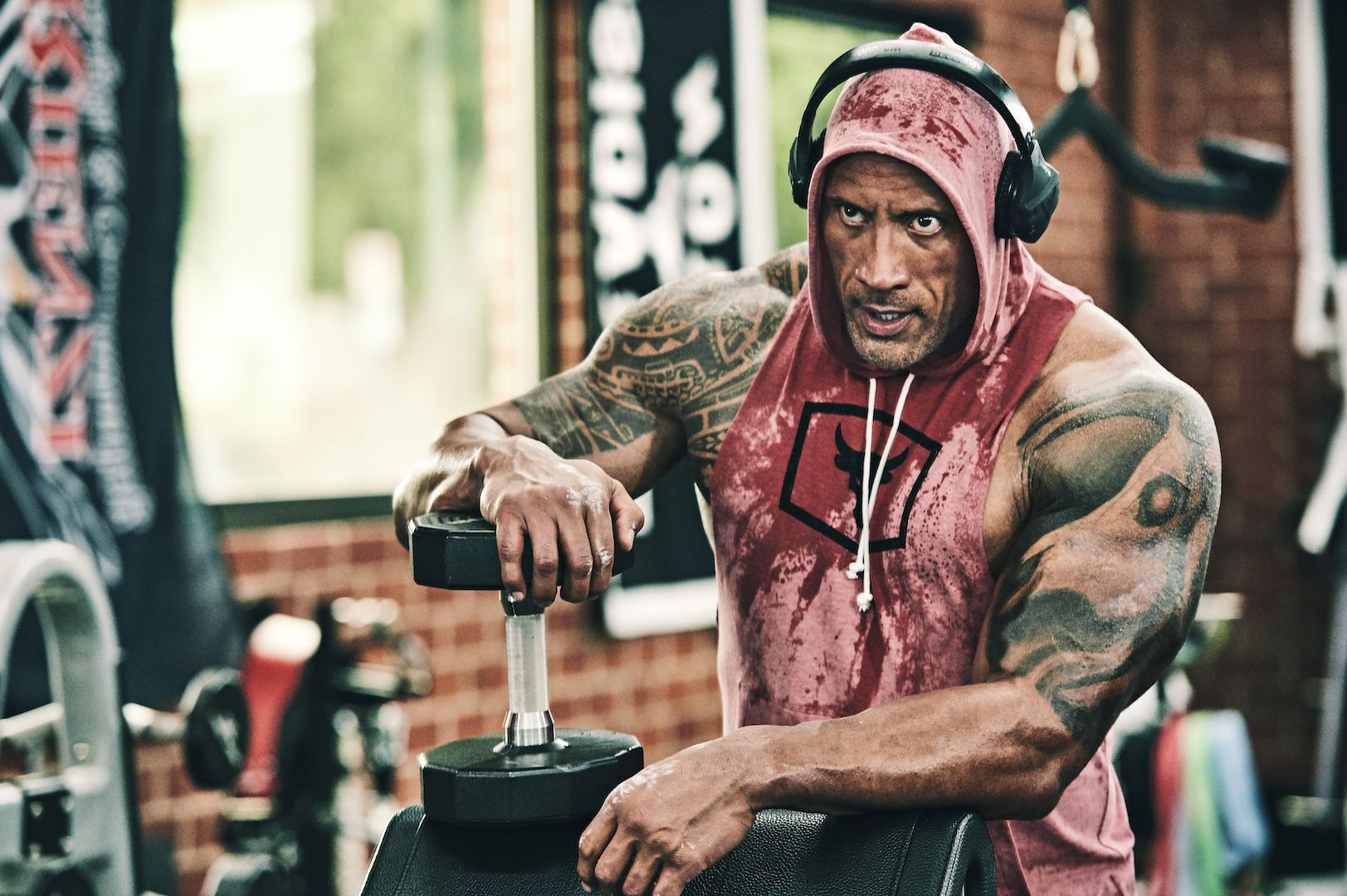 The Rock's Chest Workout Is a Smart Way to Build Muscle With Less Weight