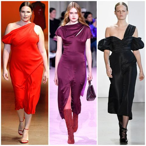 Footwear, Dress, Sleeve, Shoulder, Red, Joint, Waist, Formal wear, Style, Pink,