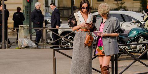 Street fashion, Fashion, Snapshot, Street performance, Street, Footwear, Infrastructure, Dress, Road, Shoe,