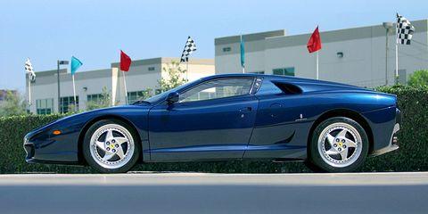 The Sultan's Secret Ferrari Starred The First Semi-Automatic Gearbox