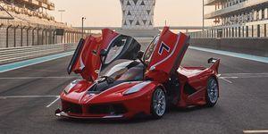 FXX-K en la subasta de RM Sotheby's en Abu Dhabi