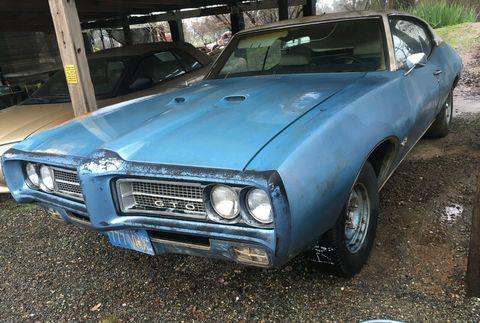 1969 Pontiac Gto Rust Free Project For Sale On Ebay Motors