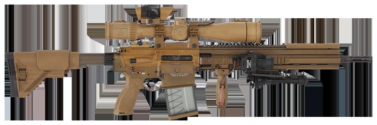 U.S. Army Squads Getting New Marksman Rifles