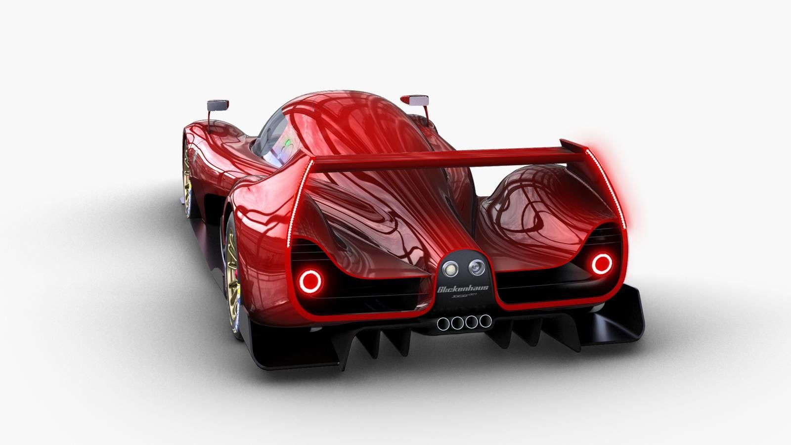 Glickenhaus's Le Mans Racer Looks Like a Modern F50 on Steroids