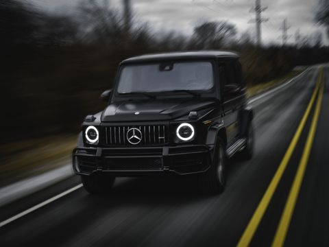 2019 Mercedes Amg G63 New G Wagen Is A Boxy Rocket