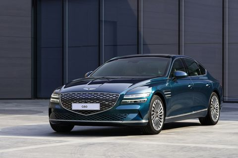 genesis electrified g80 front