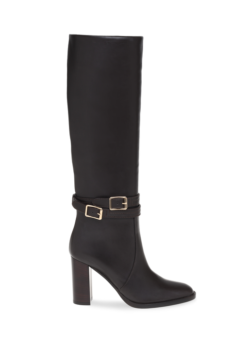 Footwear, Boot, Shoe, Knee-high boot, Riding boot, Brown, Leather, Durango boot, Suede, Buckle,