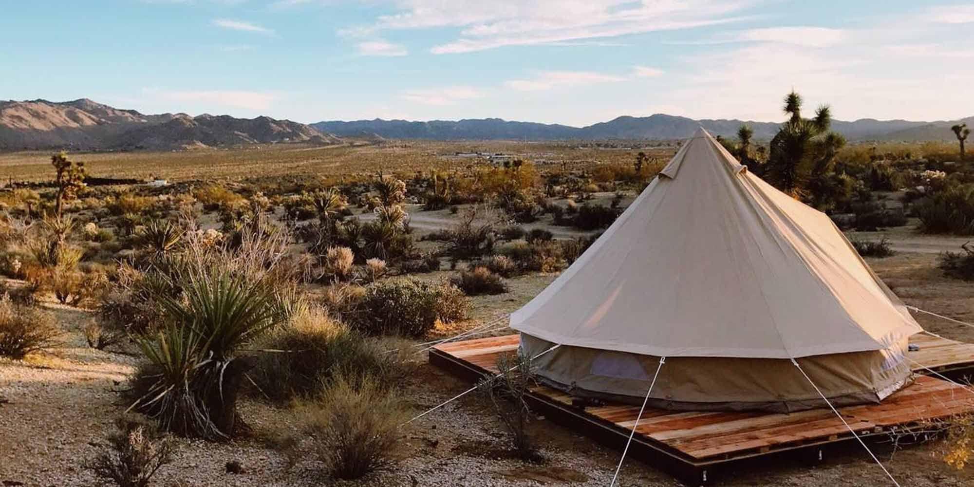 De gaafste glampings van Airbnb