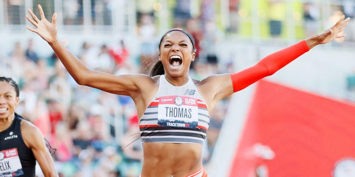 Watch Harvard Grad, Gabby Thomas, Run the Second Fastest 200m In History
