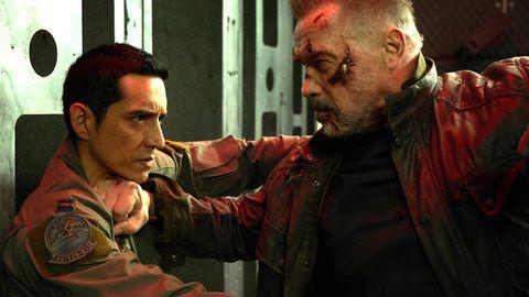 Gabriel Luna, Arnold Schwarzenegger, Terminator: Dark Fate