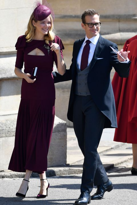 b576482f959ab The  Suits  cast arrives in London ahead of the royal wedding ...