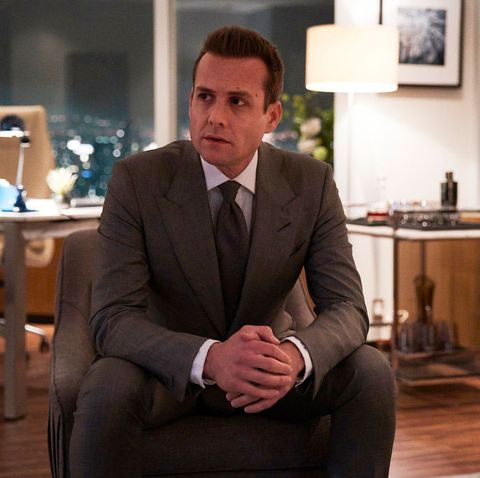 Gabriel Macht as Harvey Specter, Suits season 8