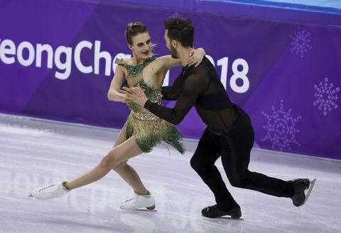 figure skating winter olympics day 10