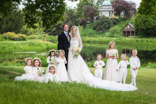 The Royal Family releases three official photos of Gabriella Windsor's wedding