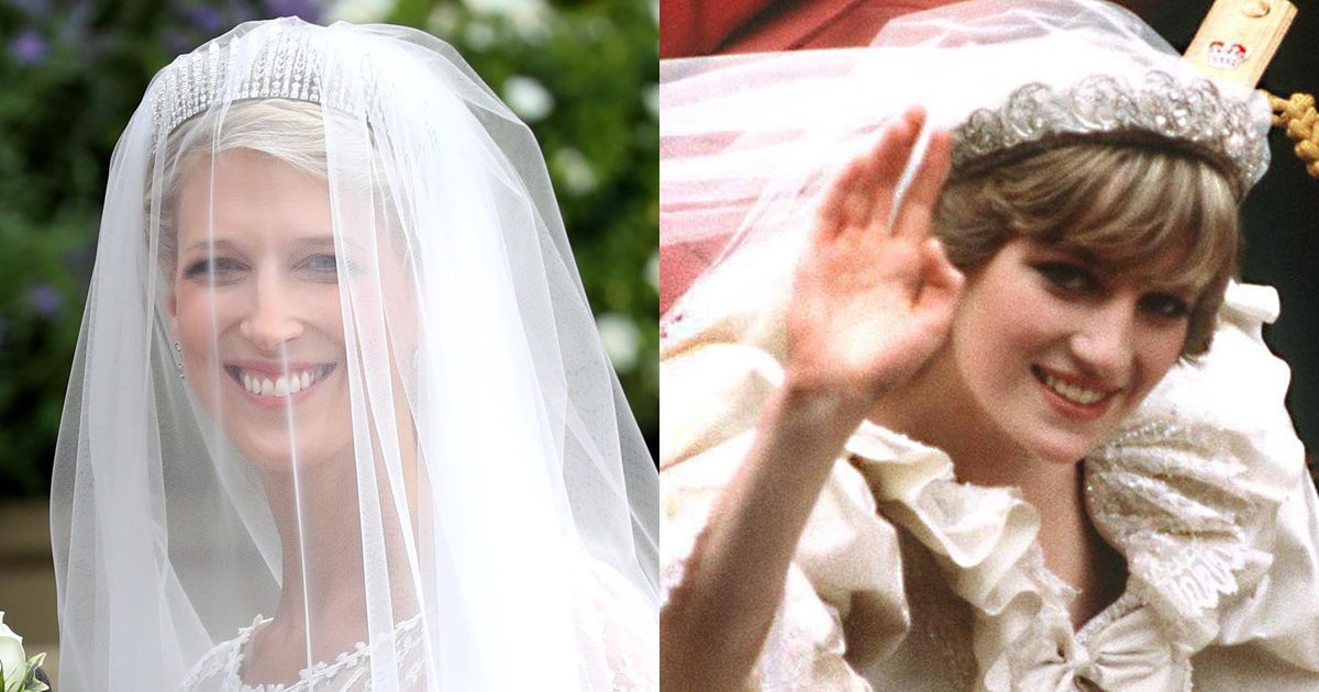 How Lady Gabriella Windsor S Wedding Tiara Compares To Famous Royal Brides