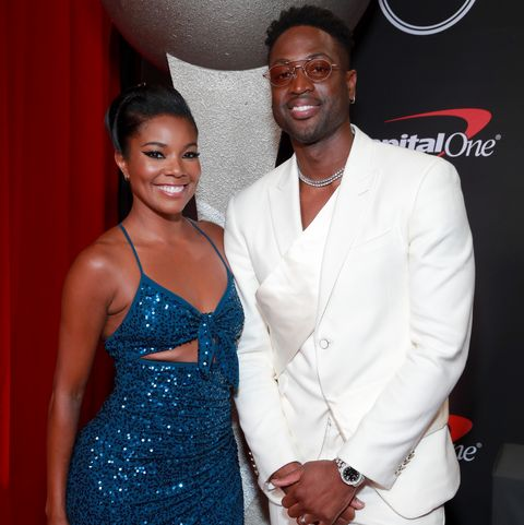 """At the ESPYs, Dwyane Wade Told Gabrielle Union He Can't Wait to Marry Her """"Again"""""""