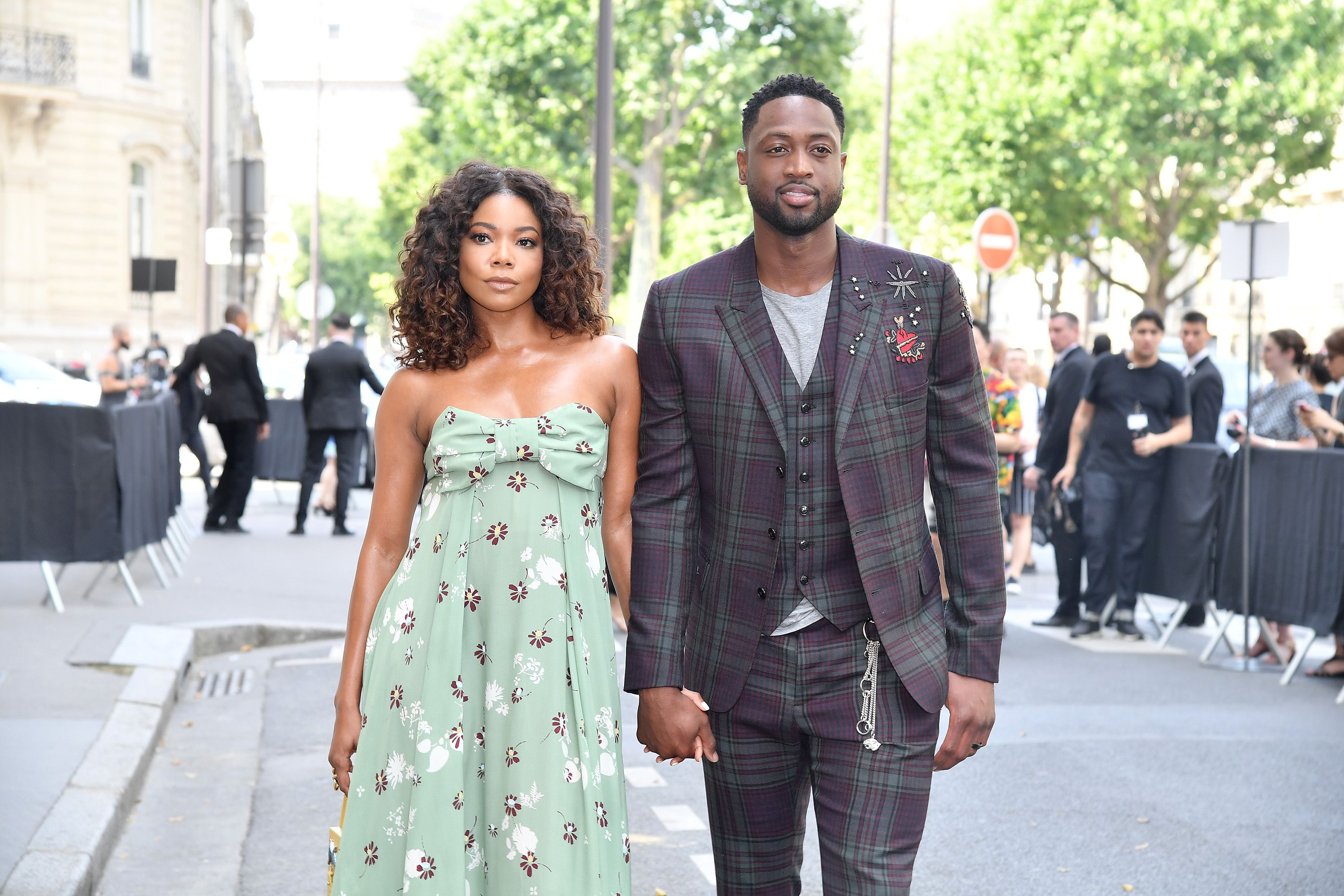 Gabrielle Union And Dwyane Wade Always Have An Arm Around Each Other