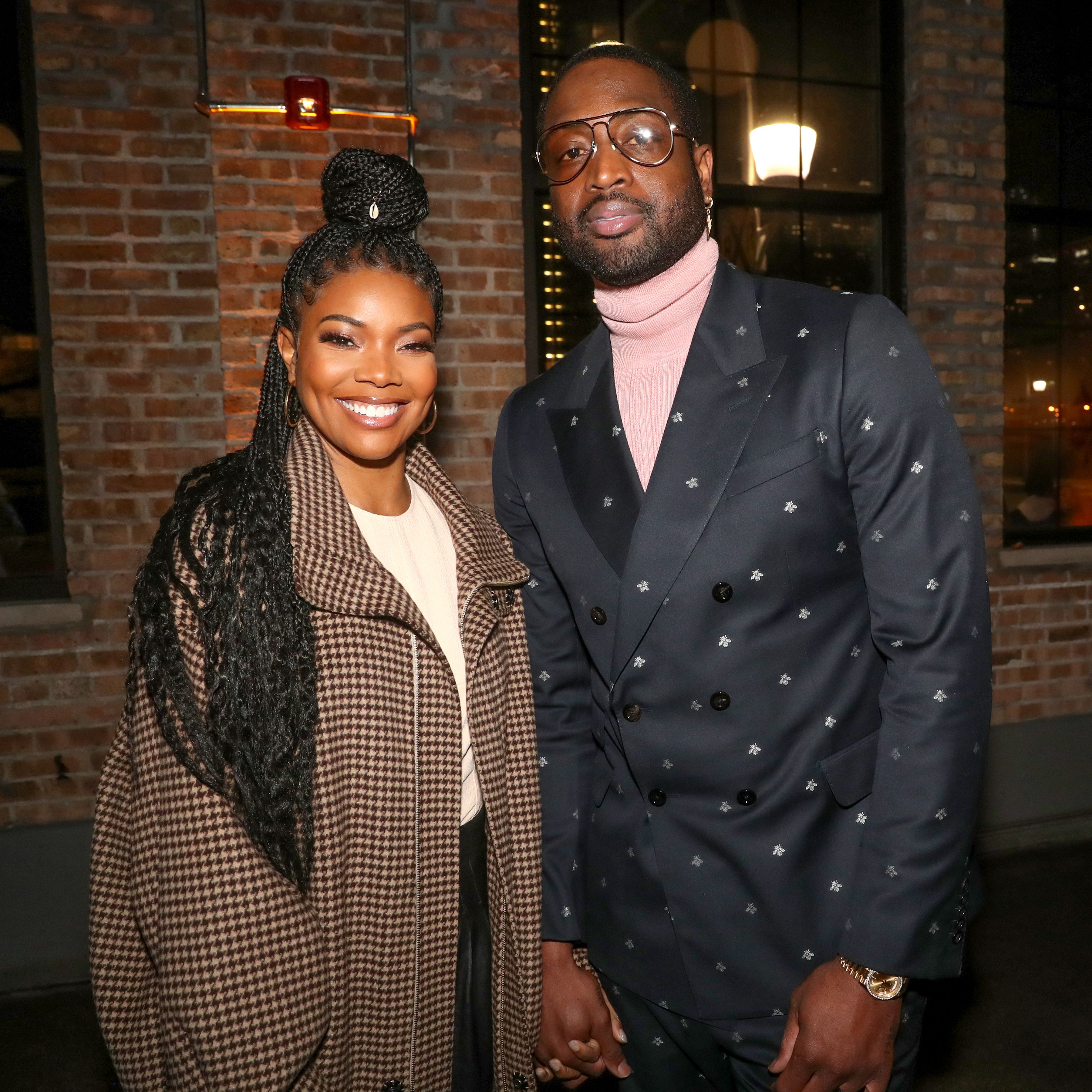 Gabrielle union and wade Dwyane Wade's