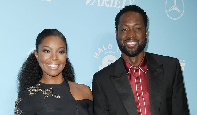 west hollywood, ca   september 15  gabrielle union and dwyane wade attend variety and women in films 2017 pre emmy celebration at gracias madre on september 15, 2017 in west hollywood, california  photo by jason laverisfilmmagic