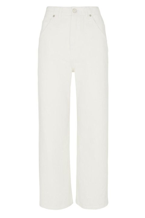 Whistles gaby jeans wide leg white