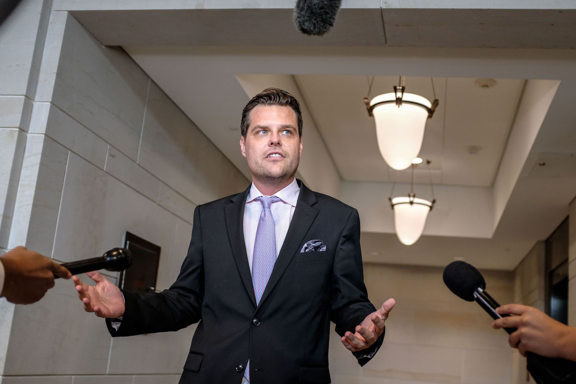 Matt Gaetz Thinks His Audience Is as Big a Box of Rocks as He Is