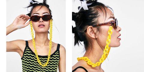 ca60842d3 Este verano colgarás tus gafas de una cadena (palabra de Zara)