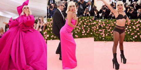 Pink, Dress, Event, Fashion, Shoulder, Gown, Flooring, Magenta, Carpet, Haute couture,