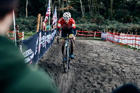 That Shouldn't Be a DQ in the National Championships. That's Just Cyclocross