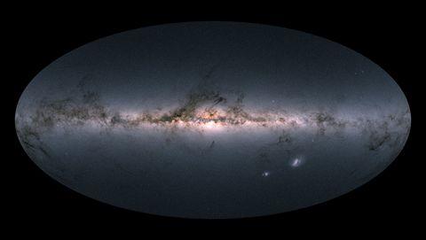 Gaia's sky in colour - ESA/Gaia/DPAC
