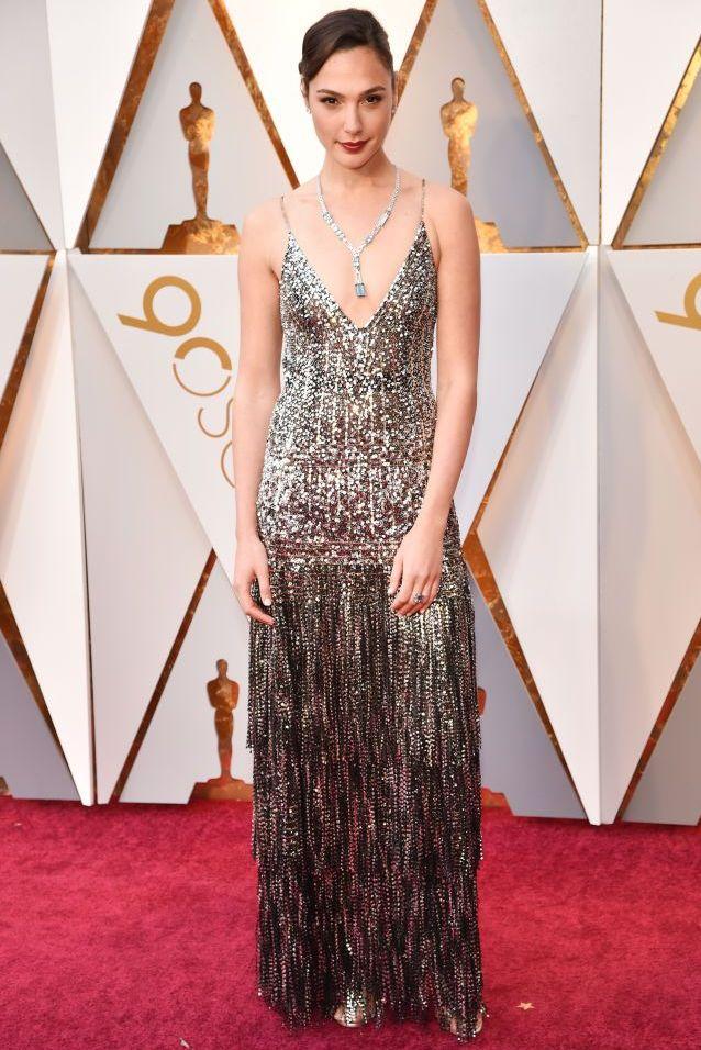 Gal Gadot, 蓋兒加朵, GIVENCHY, 高級訂製服, 女星紅毯, 奧斯卡紅毯, 90屆奧斯卡頒獎典禮